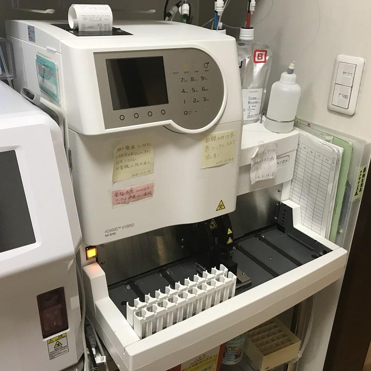 HbA1c/グルコース分析装置(AH-8290)
