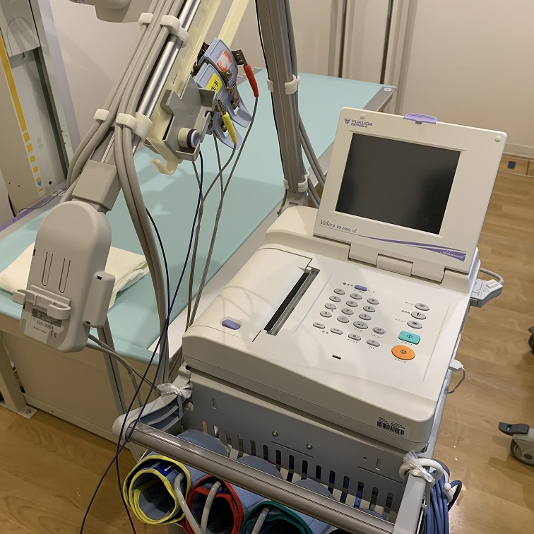 動脈硬化検査(CAVI;心臓足首血管指数)